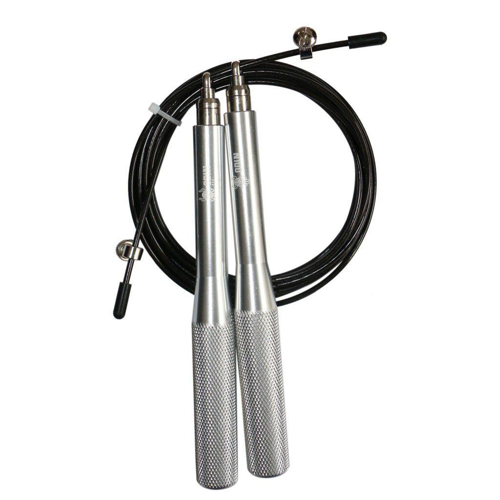 Corda de Pular Speed Rope Alumínio Odin Fit Prata