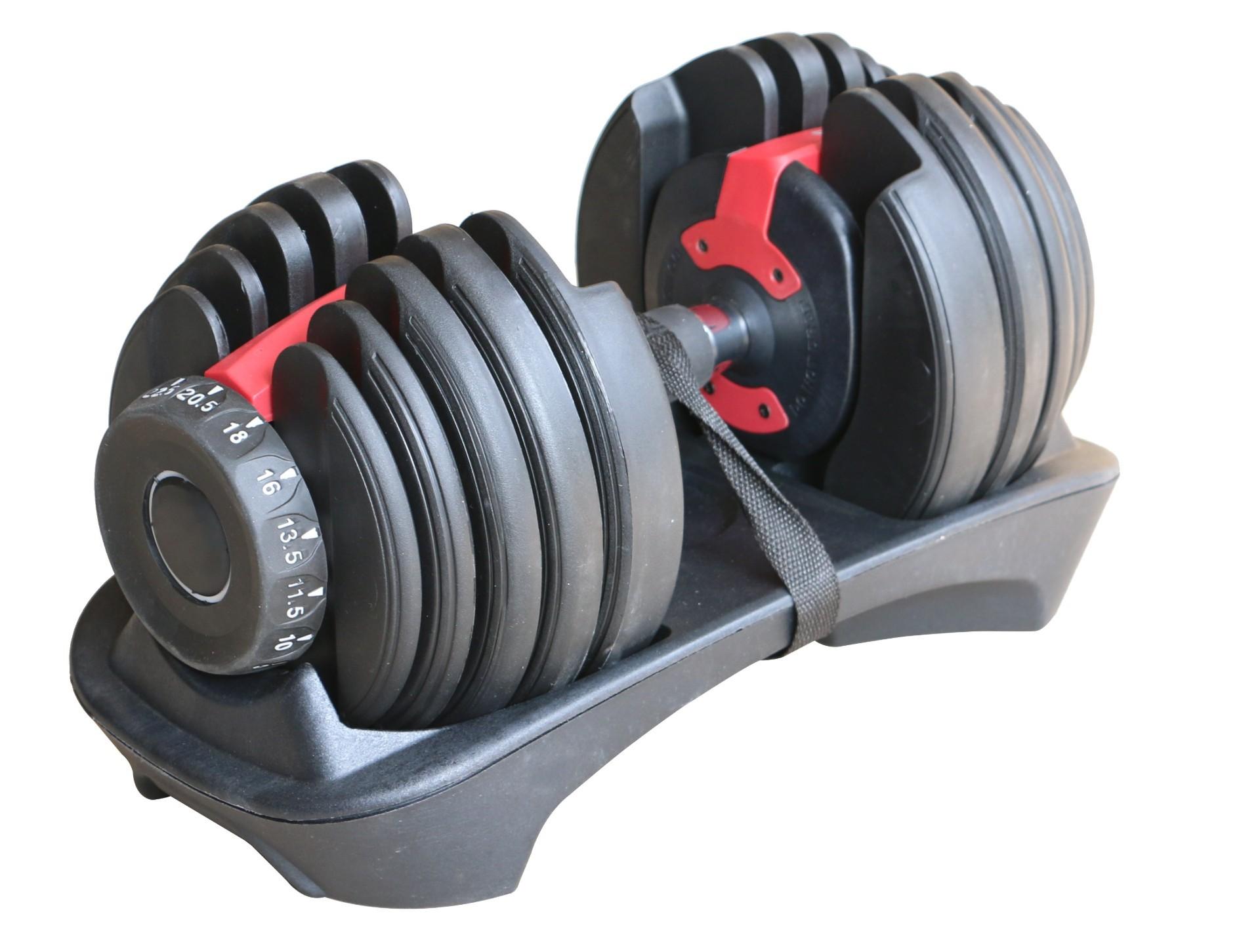 Halter Dumbell regulável 2,5 a 24kg Odin fit