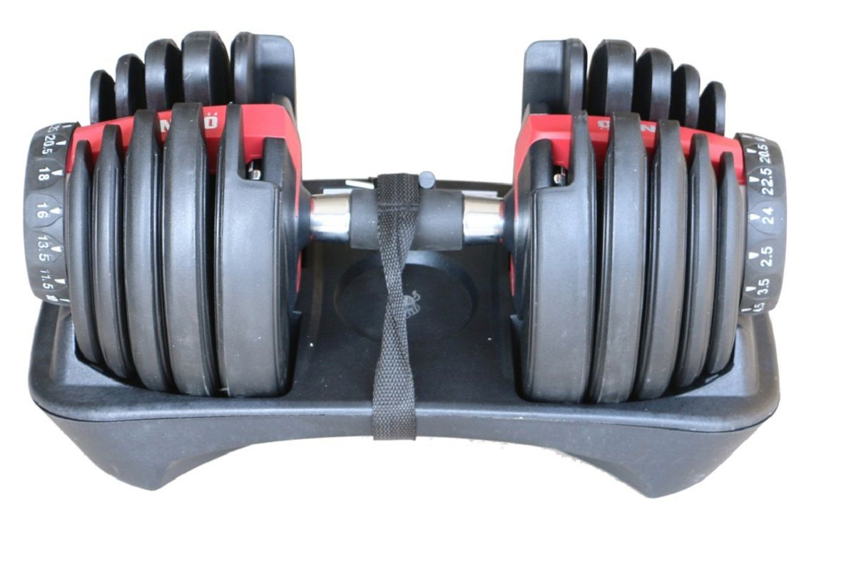 Halter Dumbell regulável 2,5 a 24kg Odin fit