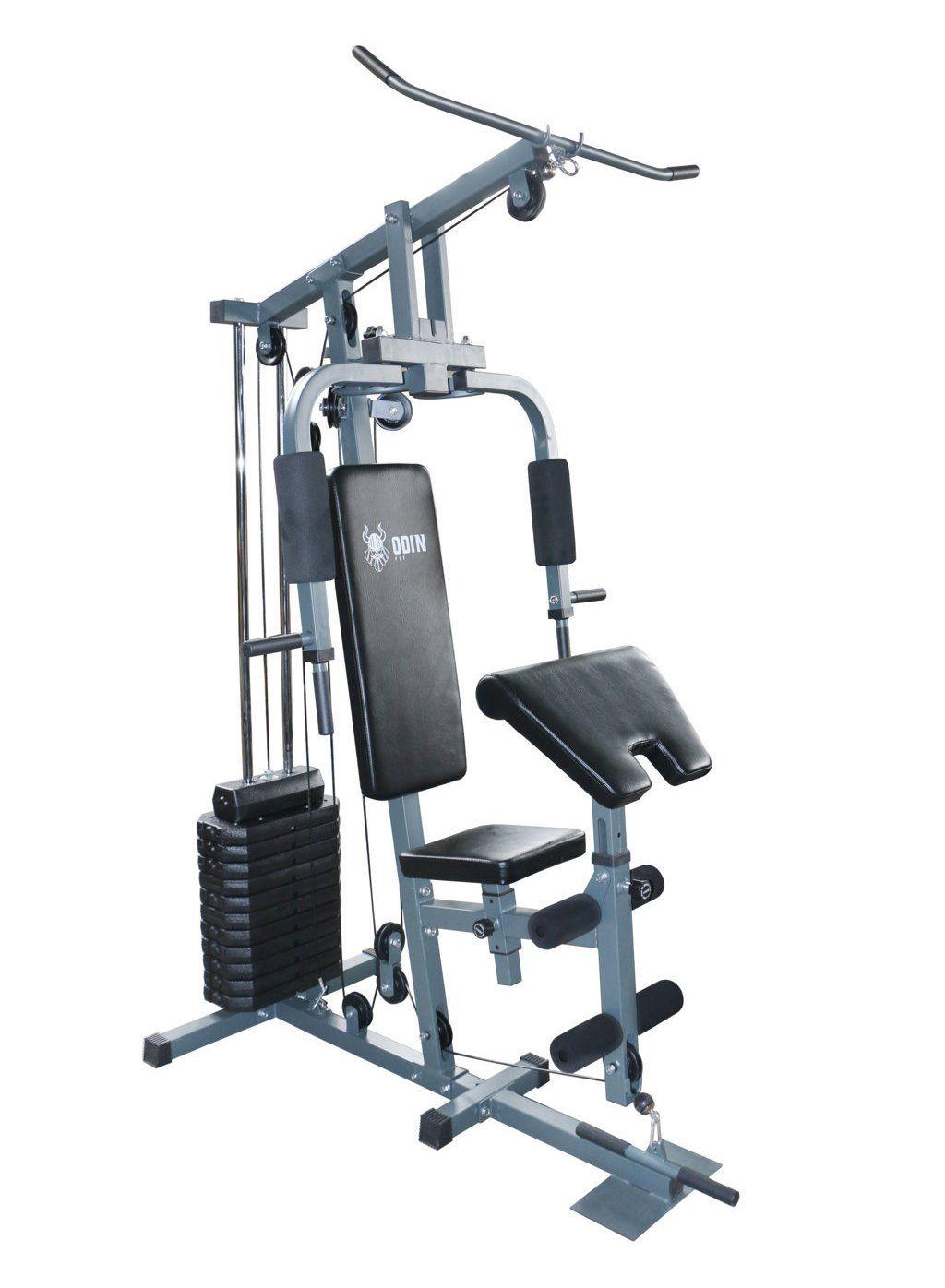 Estação de Musculação Compacto Home Gym Cinza 80kg