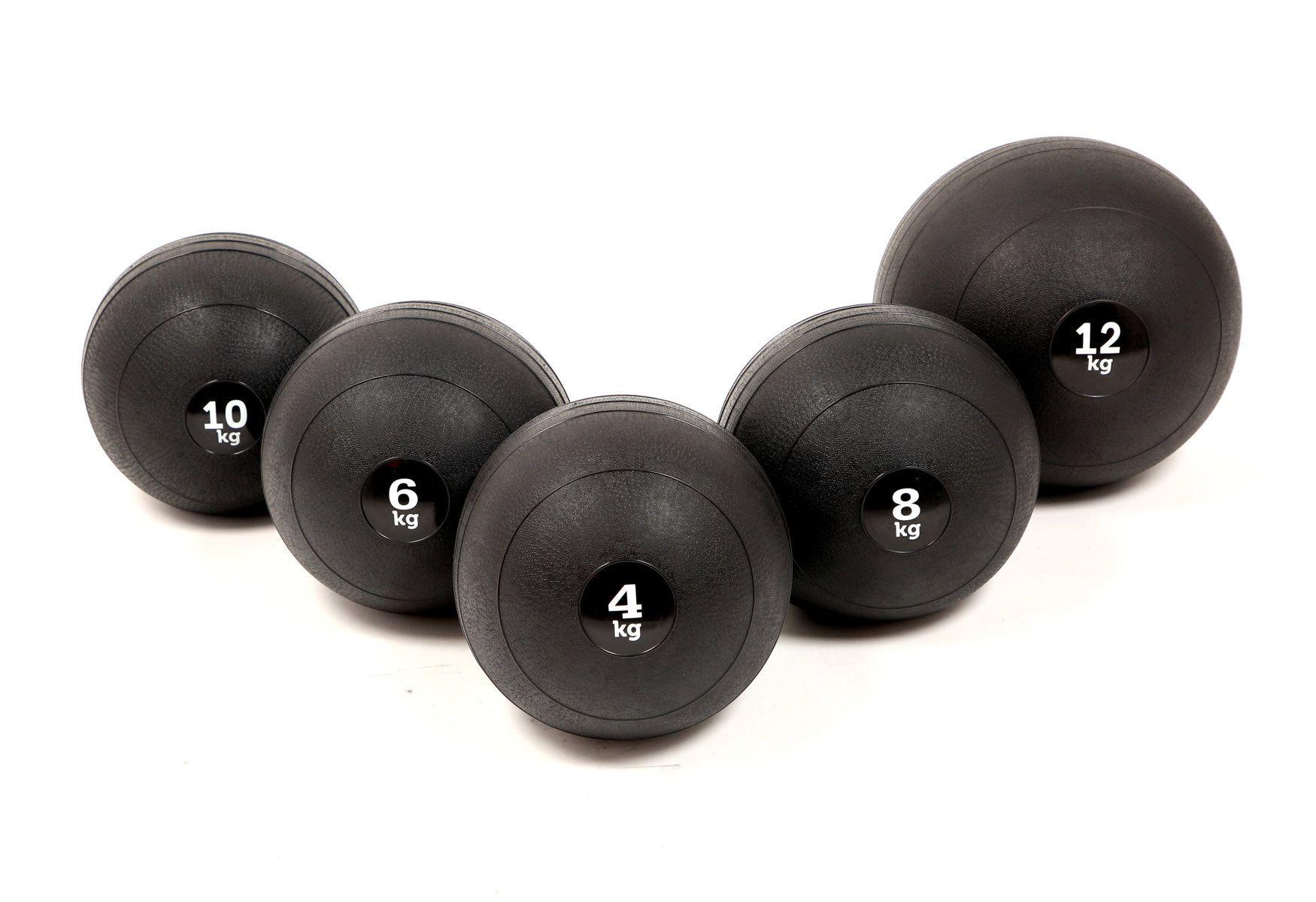 Kit 5 Slam Ball (4kg, 6k, 8kg, 10kg e 12kg)