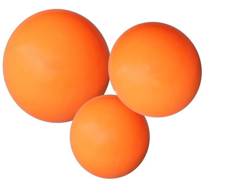 Kit Bolas Tonificadoras Toning Ball 1,2,3kg Laranja Odin Fit