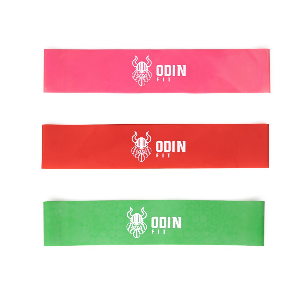 Kit Mini Bands 3 Intensidades - ESP- Odin Fit