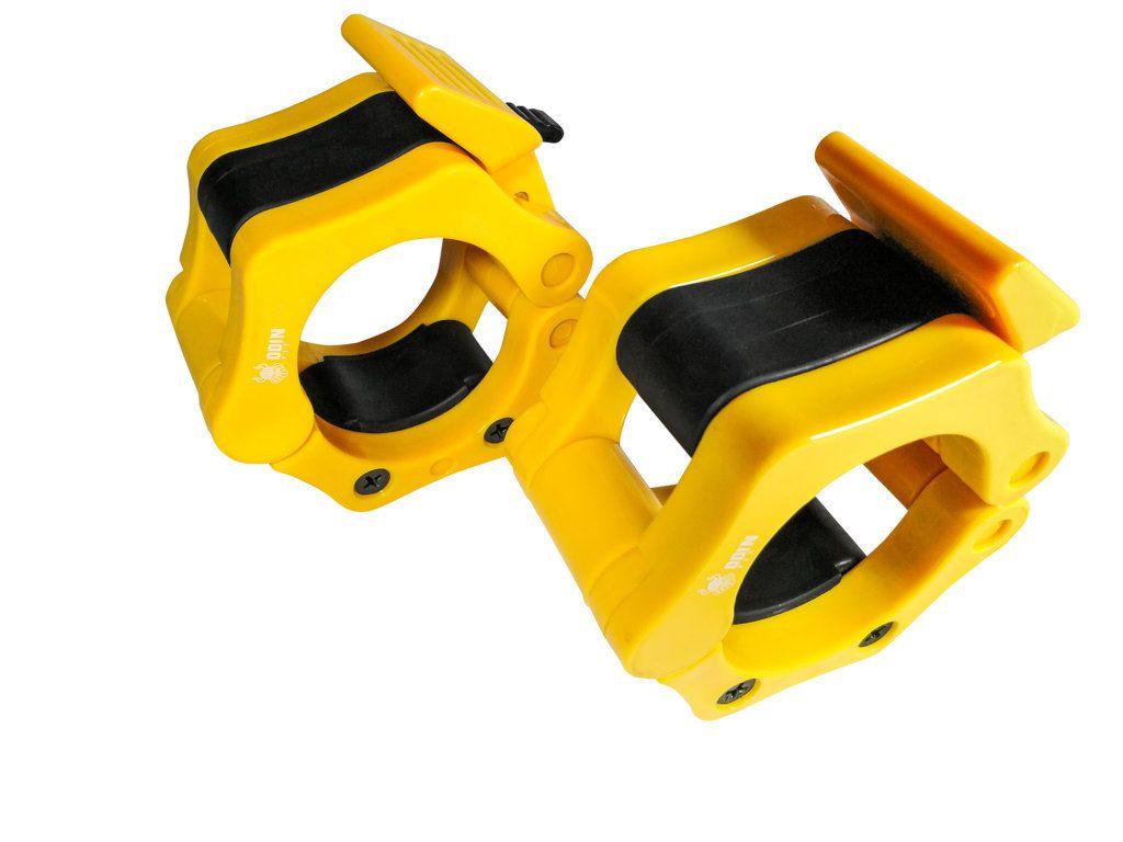 Lock Jaw Crossfit Par Presilha Barra Olimpica 2 50mm