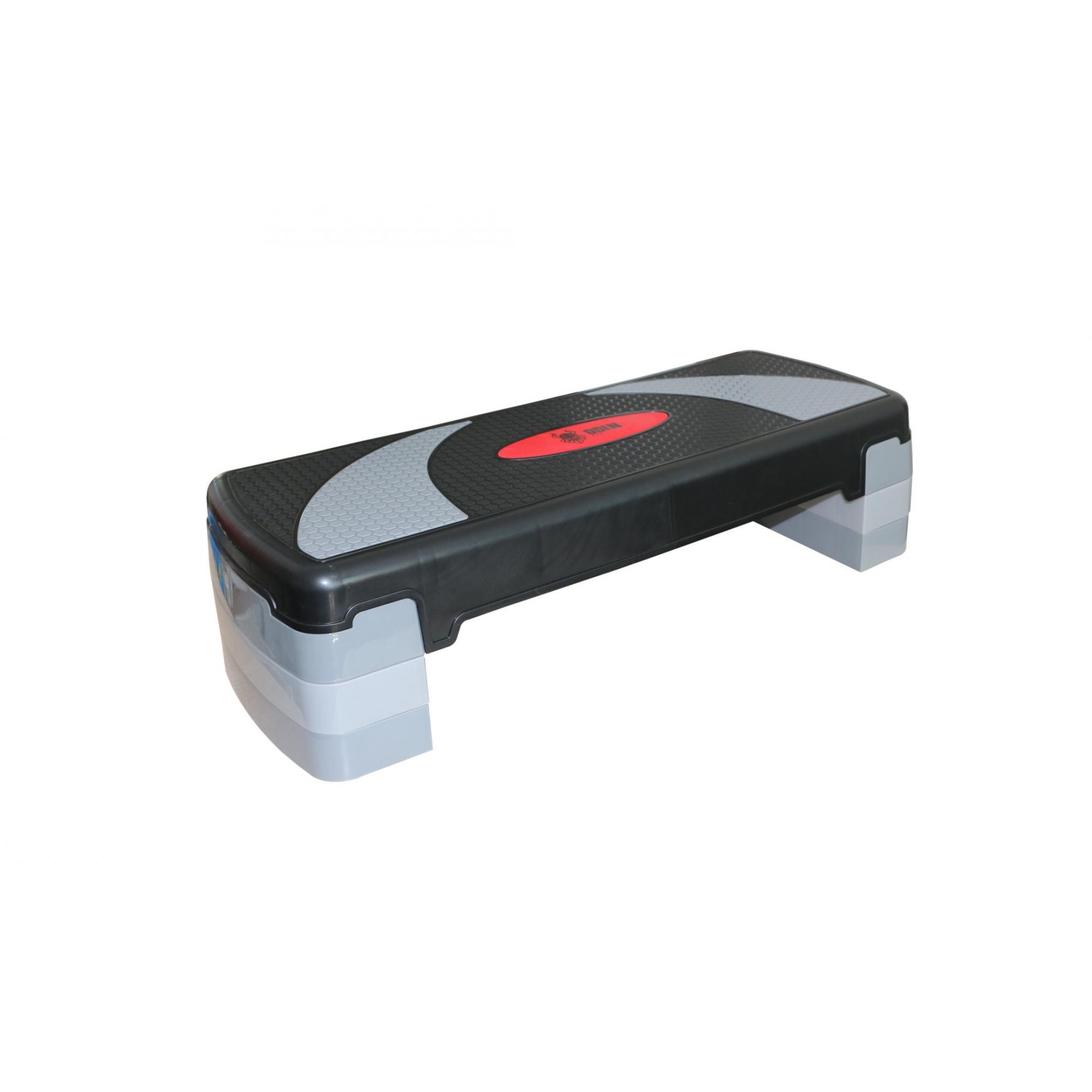 Step Antiderrapante Ajustável em 3 Níveis até 20cm Polipropileno - Odin Fit