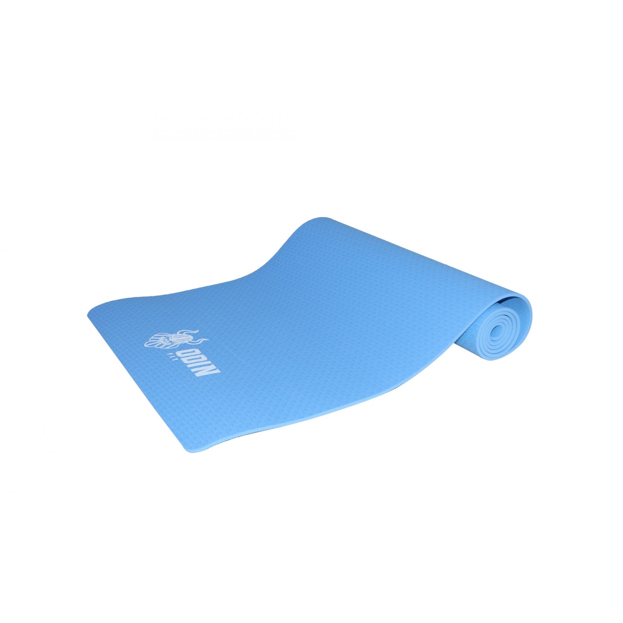 Tapete para Yoga e Pilates em TPE 6mm exercício - Odin Fit