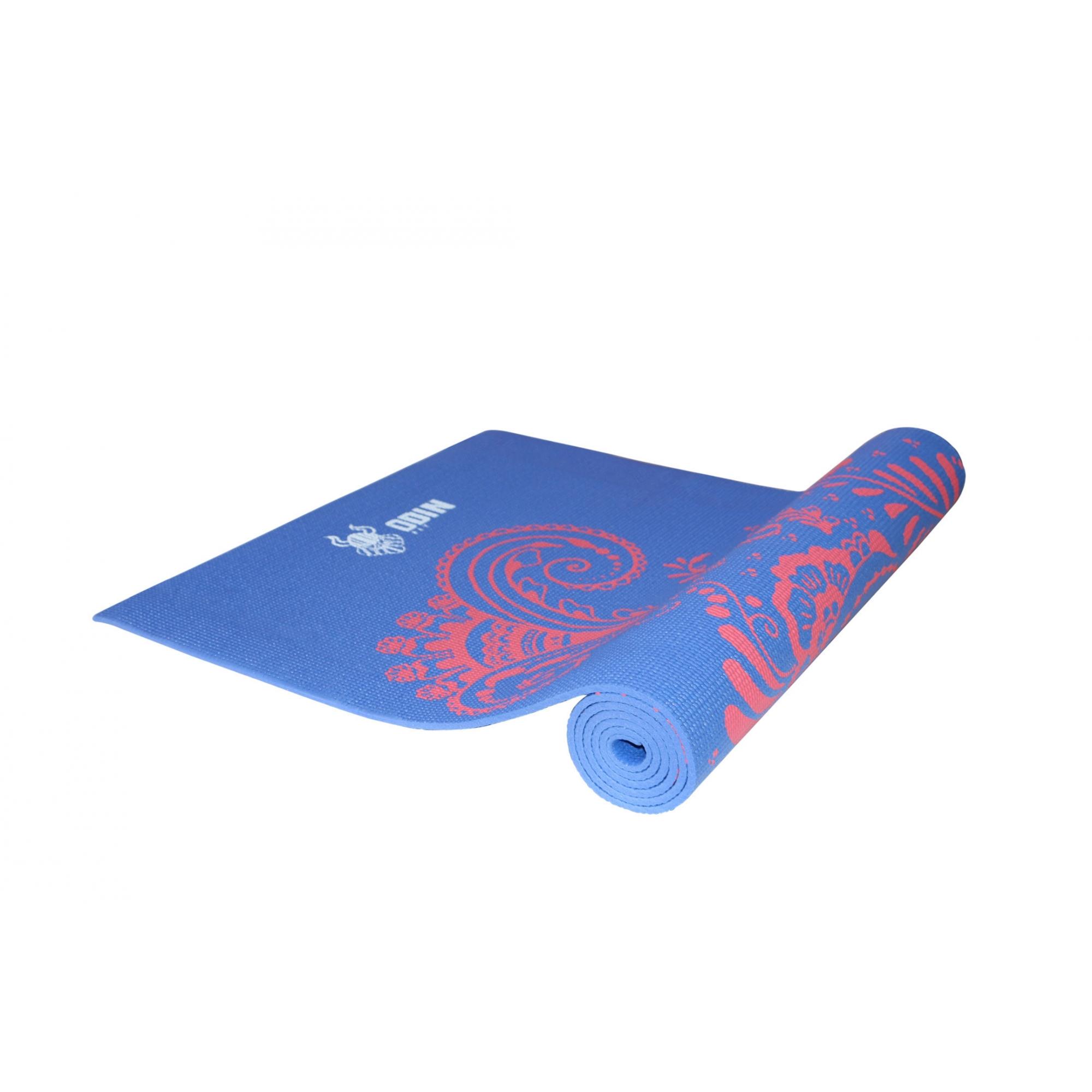 Tapete para Yoga Estampado Colchonete Pilates PVC Odin Fit