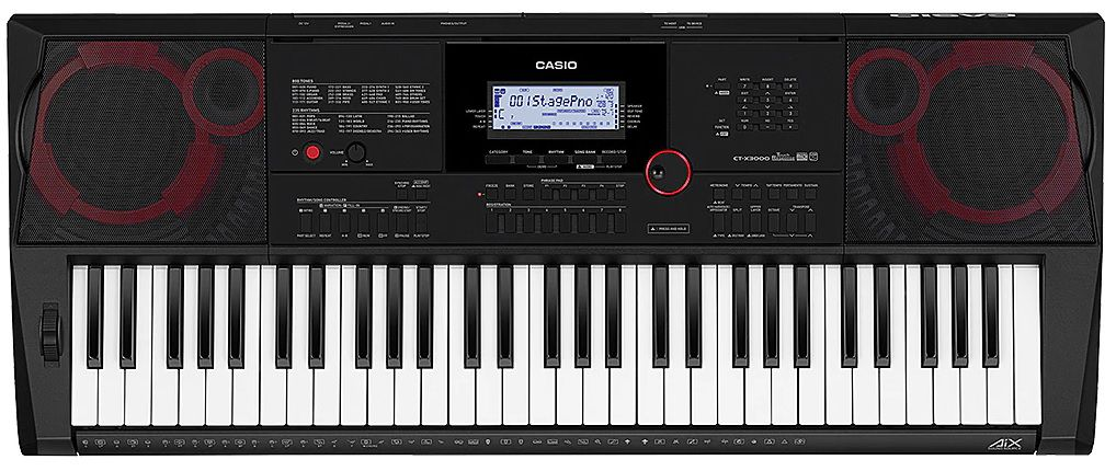 a0d691adb84 Teclado Casio CT X3000 Casio