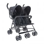 Carrinho de Bebê para Gêmeos Lenox Whoop Youme Preto