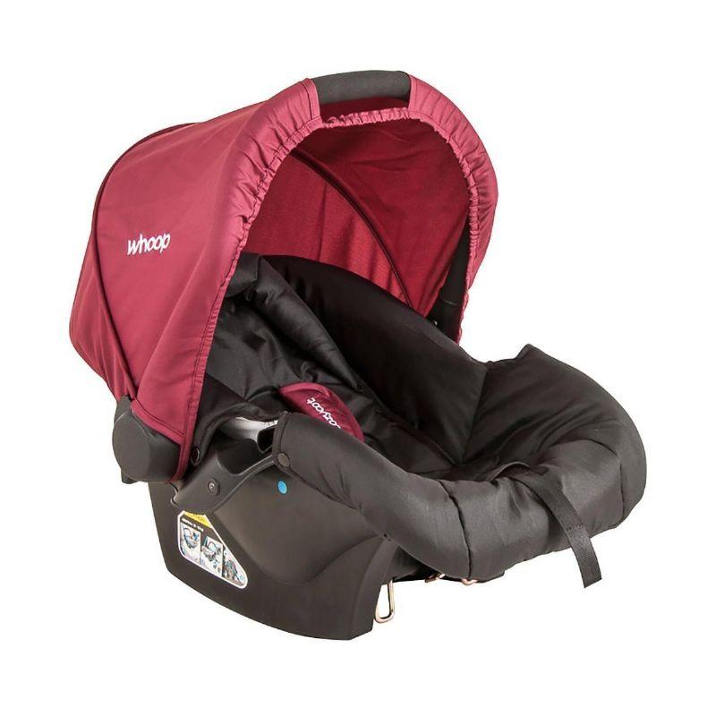 Bebê Conforto Cozycot Click - Preto E Vinho