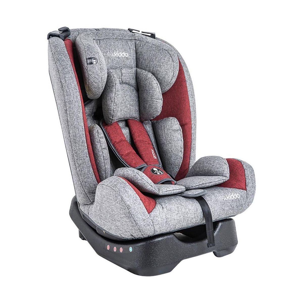 Cadeira para Auto Grow Vermelho e Cinza - Kiddo