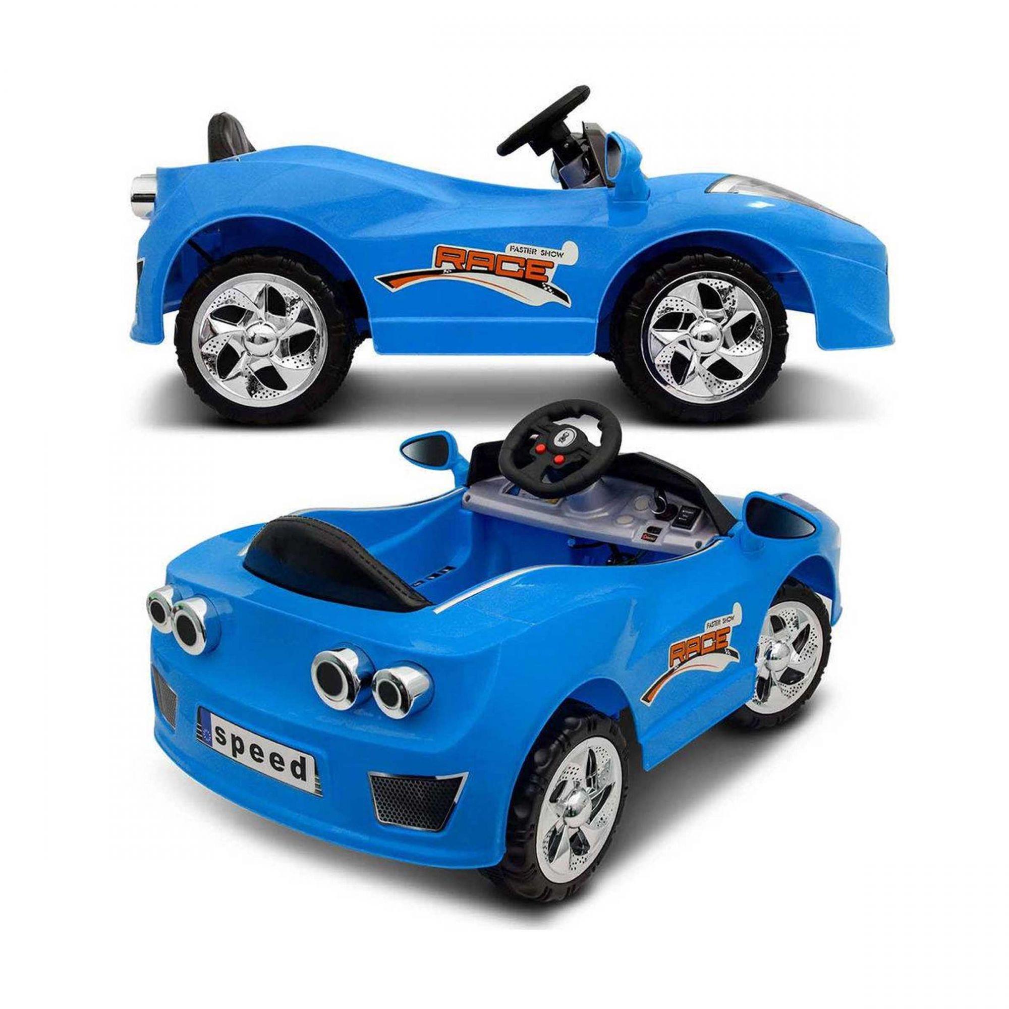 Mini Carro Elétrico Importway Azul