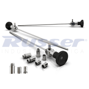 Endoscópio Rígido Autoclavável de Ø 2,7mm  Ângulo de Visão 30º   127mm comprimento