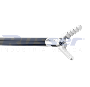 Pinça corte e apreensão alligator   mandibula serrilhada   dupla ação   330mm   com cremalheira