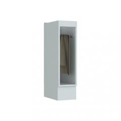 Balcão 20cm Porta Toalha Americana Henn - Branco HP Fosco