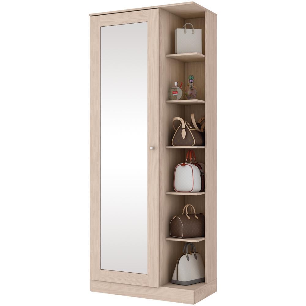 Sapateira com Espelho 1 Porta Henn Duetto - Fendi  - Loja Veneza