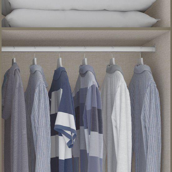 Guarda-roupa Casal 6 Portas Atalaia Henn - Duna/Cristal  - LOJA VENEZA