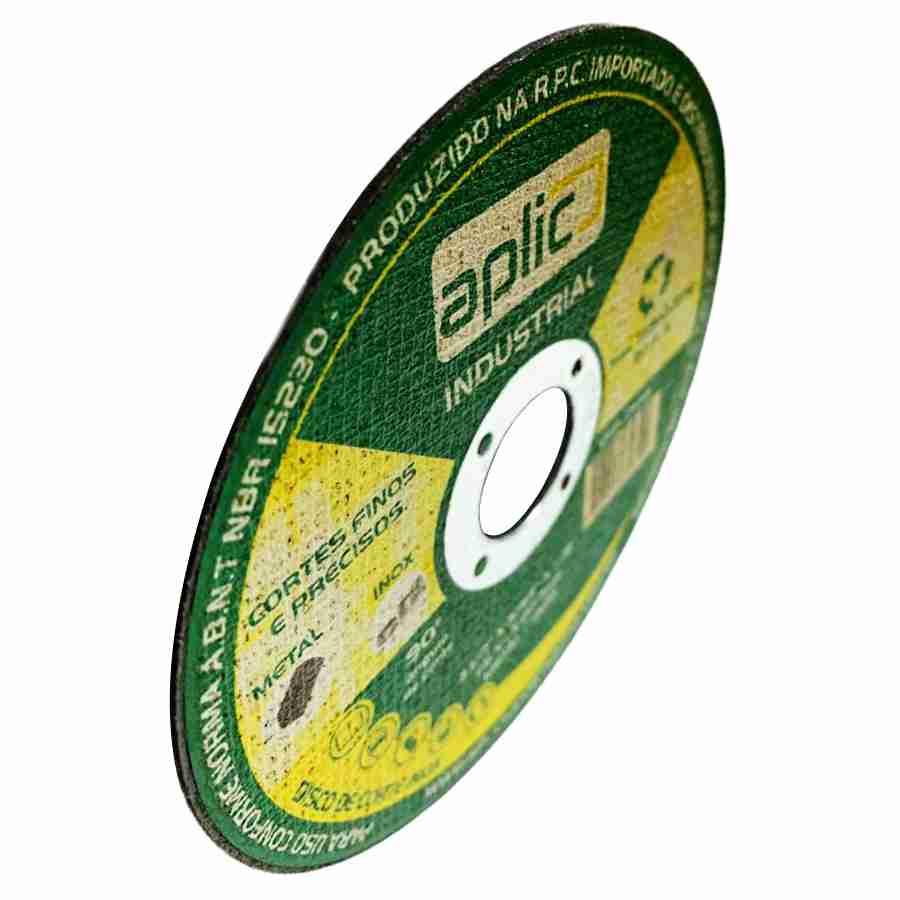 Disco De Corte Inox Industrial 115 X 1 X 22,2mm 25 Peças