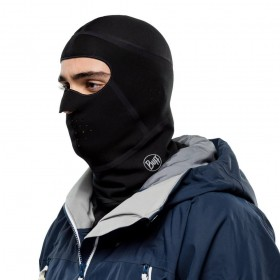 Balaclava Cross Tech Solid Buff Preta