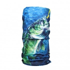 Bandana 3Z Green Fish
