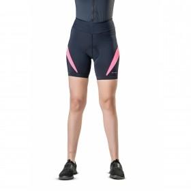 Bermuda Para Ciclismo Feminina Elite Preto e Pink