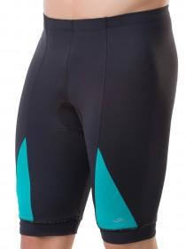 Bermuda Para Ciclismo Masculina Elite Preto E Verde