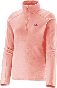 Blusa Polar 1/2 Zip II Fleece Feminina Salomon Fluo