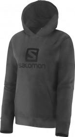 Blusa Polar Hoodie Feminina Salomon Preta