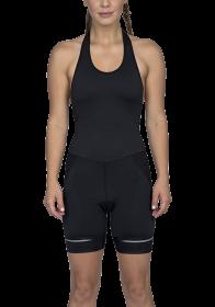 Bretelle Para Ciclismo/ Bke Com Forro de Espuma Compressão Supreme Feminino Woom Preto e Branco