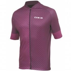 Camisa Ciclismo Masculina Fusion DX3 Vinho