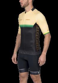 Camisa Ciclismo Supreme Brasil Amarelo Masculino Woom
