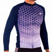 Camisa Manga longa blusa de Ciclismo Montop  Masculino Dx3