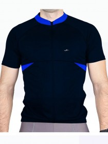 Camisa Para Ciclismo Bike Masculina Elite Azul