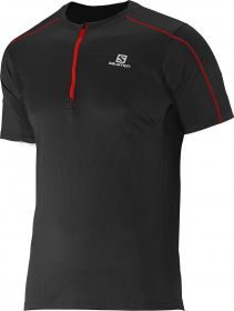 Camiseta Trail Running Action 1/2 Zip Salomon