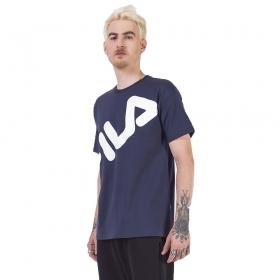 Camiseta BIg Letter Masculina Fila Marinho