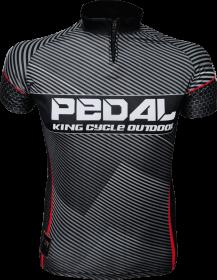 Camiseta De Ciclismo Pedal 06 King