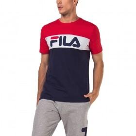 Camiseta Letter Colors Masculina Fila