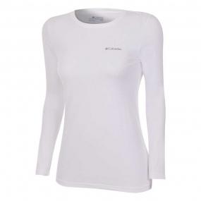 Camiseta Manga Longa Segunda Pele Neblina Feminina Columbia