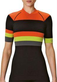 Camiseta T Shirt LS Bike Feminino Lupo Laranja