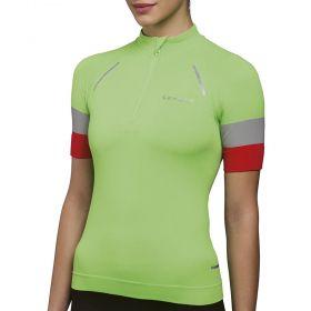 Camiseta T Shirt LS Bike Feminino Lupo Verde