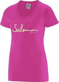 Camiseta Time To Play Tee Feminina Salomon