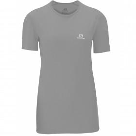 Camiseta Trail Running Hybrid SS Feminina Salomon