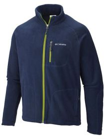Jaqueta Fast Trek II Full Zip Fleece Masculina Columbia Collegiate Navy