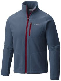 Jaqueta Fast Trek II Full Zip Fleece Masculina Columbia Dark Mountain
