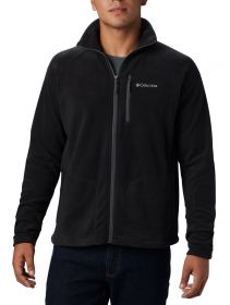 Jaqueta Fast Trek II Full Zip Fleece Masculina Columbia Preta