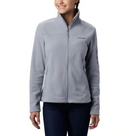 Jaqueta Fast Trek II Fleece Feminina Columbia Tradewinds Grey