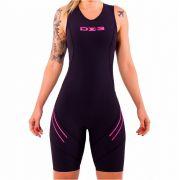 Macaquinho DX3 X-PRO Feminino Triathlon
