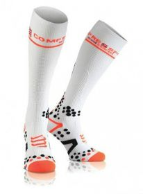 Meia Bike/ Running/ Trail de Compressão Para Corrida Full Socks Unissex Compressport