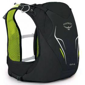 Mochila Duro 6 Com Reservatório Preta E Verde Unissex Osprey
