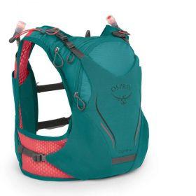 Mochila Dyna Osprey 6 P/M Verde Com Flask Feminina